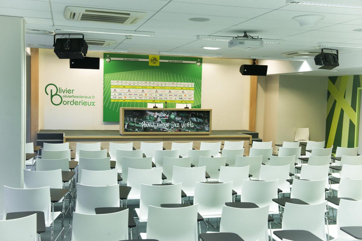 Stade Geoffroy Guichard - Salle de conférences de presse