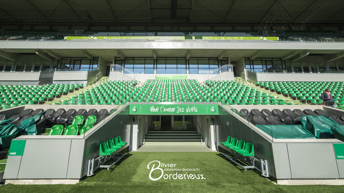 Stade Geoffroy Guichard - Tribune des officiels