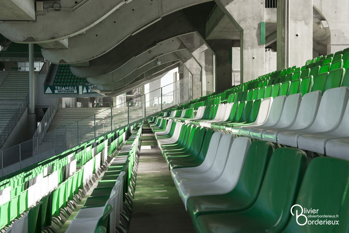Stade Geoffroy Guichard - Tribune Henri Point