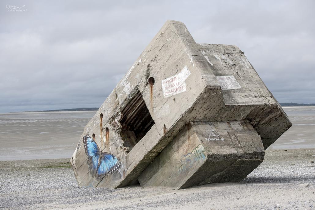Bunker - Plage du Hourdel