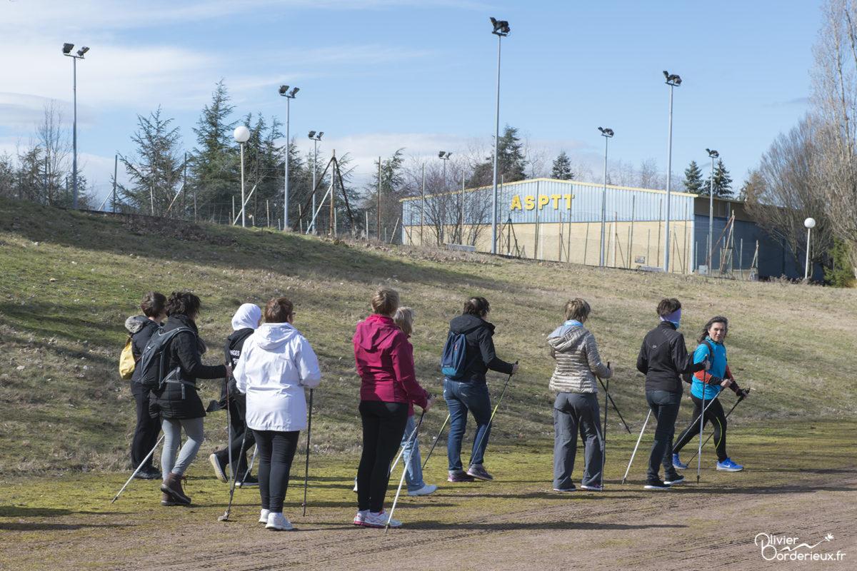 ASPTT Villars - Le sport donne des elles - Marche nordique