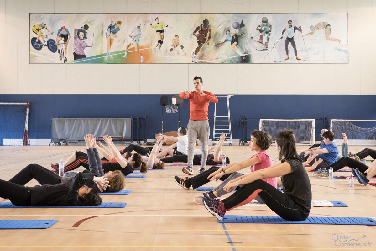 ASPTT Villars - Le sport donne des elles - Pilates
