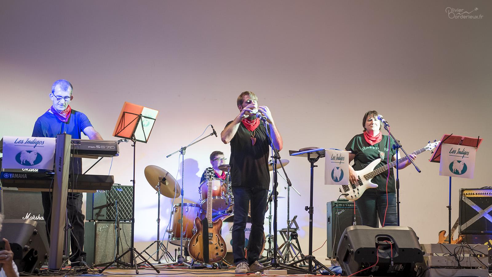 1er concert des Indigos